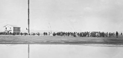 Fotografía que muestra a El Alto de anteaño. Foto: Carrera de Historia UPEA